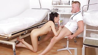 Doctor is very horny today