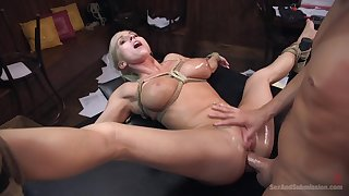 Christie Stevens gets fucked by hard friend's penis while she moans