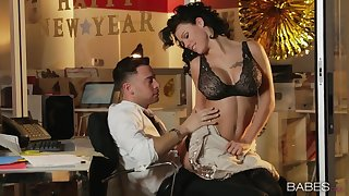 Public place sex with a lucky stud and pornstar Peta Jensen