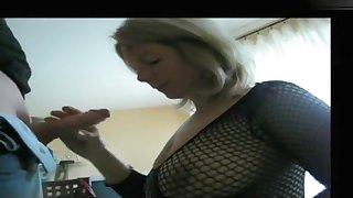 My massive tits look hot in my amateur blowjobs video