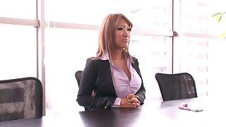 Blond assian model sex