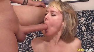 Golden Slut - Grannies Getting a Proper Mouthful Compilation