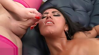 THE BEST SHEMALE CUMSHOTS COMPILATION BY JOLIEANDFRIENDS.COM